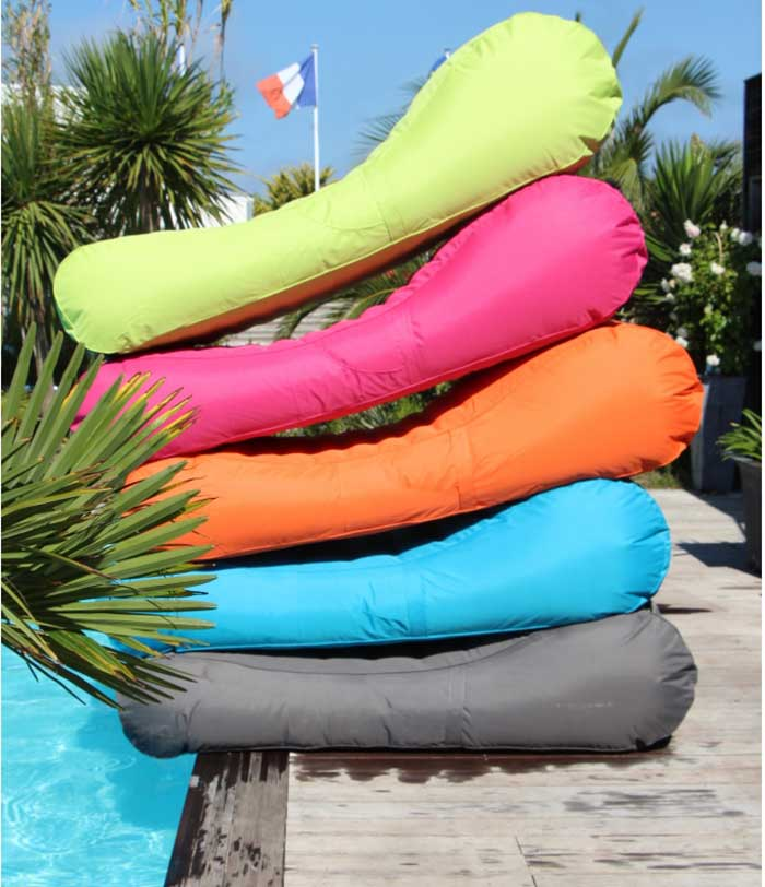 Coussin piscine trendy matelas gonflable piscine glace for Piscine portable carrefour