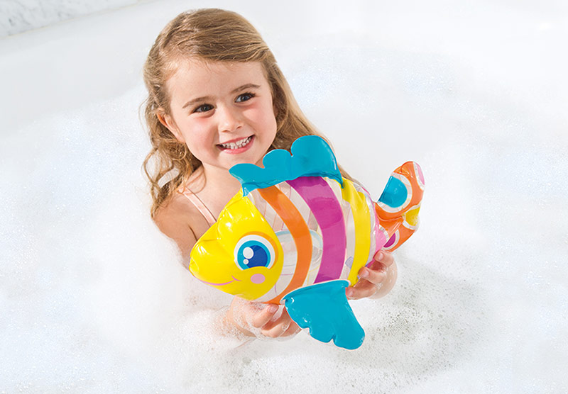 mini animal gonflable Teddy Le Poisson Intex