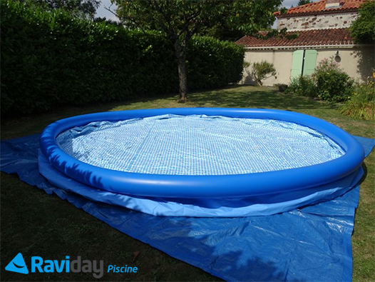 Piscine autoport e easy set intex x m raviday - Piscine tubulaire ou autoportee ...