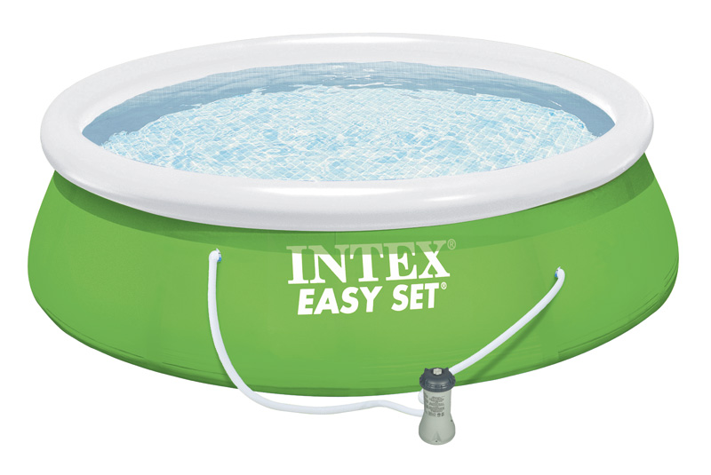 piscine gonflable intex easy set x m epurateur. Black Bedroom Furniture Sets. Home Design Ideas