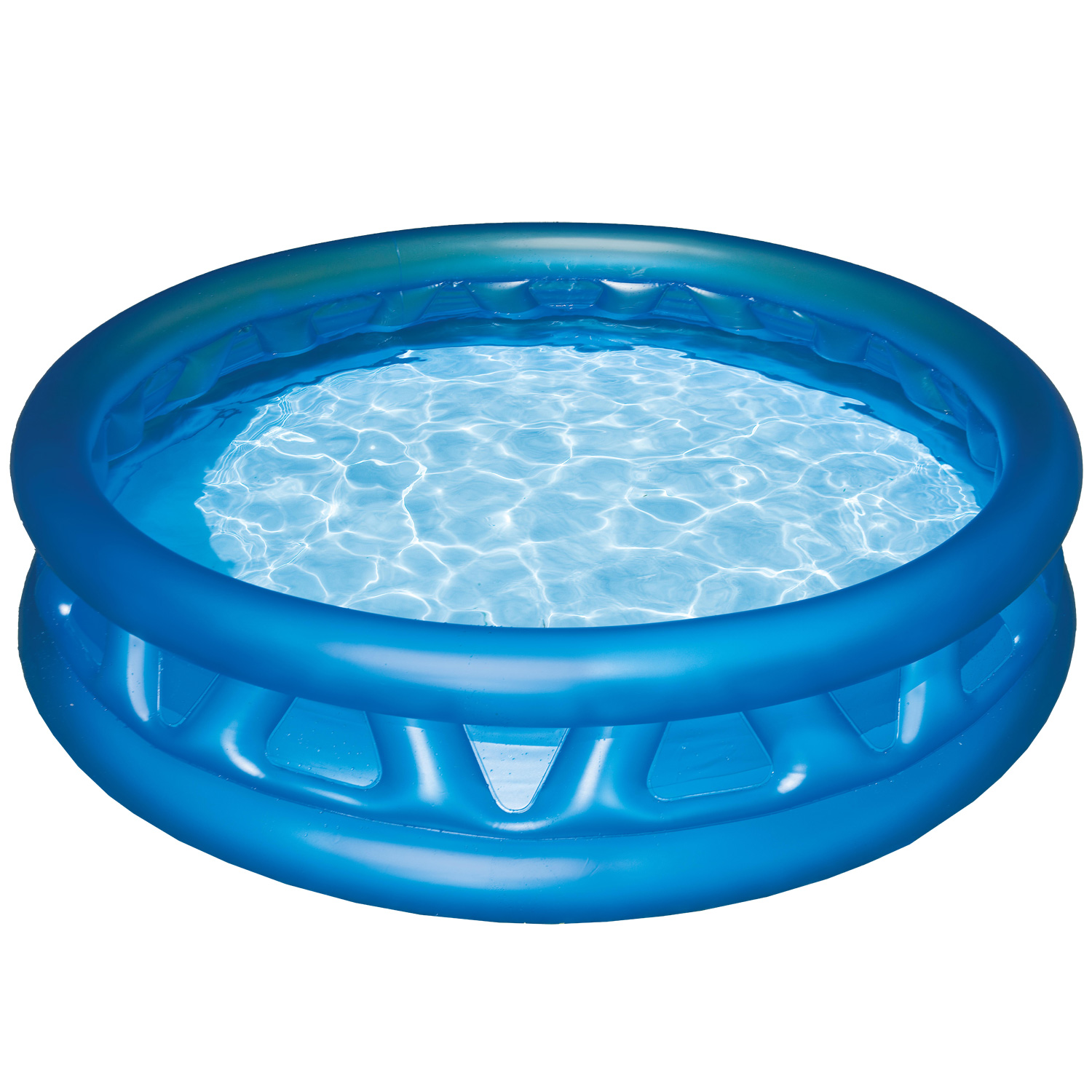 Piscine gonflable intex soft side pool piscines pour enfants for Piscine gonflable rectangulaire
