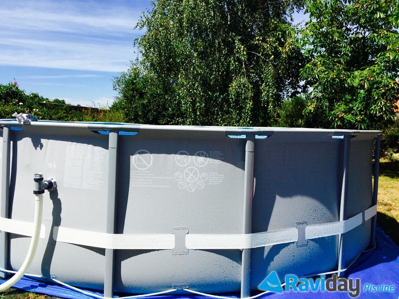 piscine intex ultra frame 4.88 x 1.22 m - ref 28324 - raviday