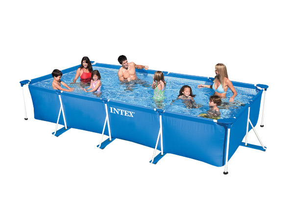 Piscine tubulaire Intex Metal Frame 4,50