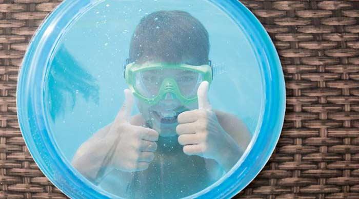Kit Piscine ovale tubulaire Bestway Power Steel Swim Vista 427x250x100cm