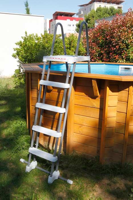 Piscine en bois octogonale Ubbink Sunwater All in ONE 410