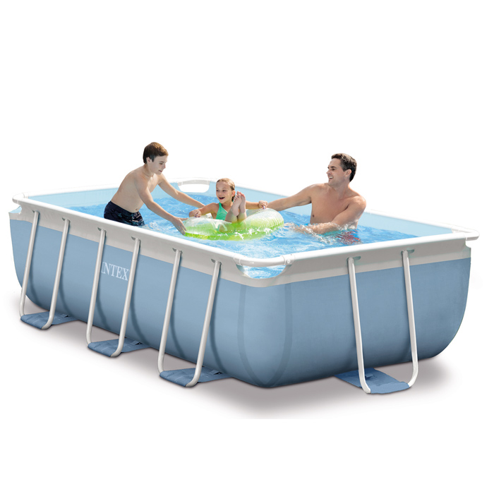 Piscine intex prism frame 3m x 1 75m x 0 8m piscine for Piscine demontable intex