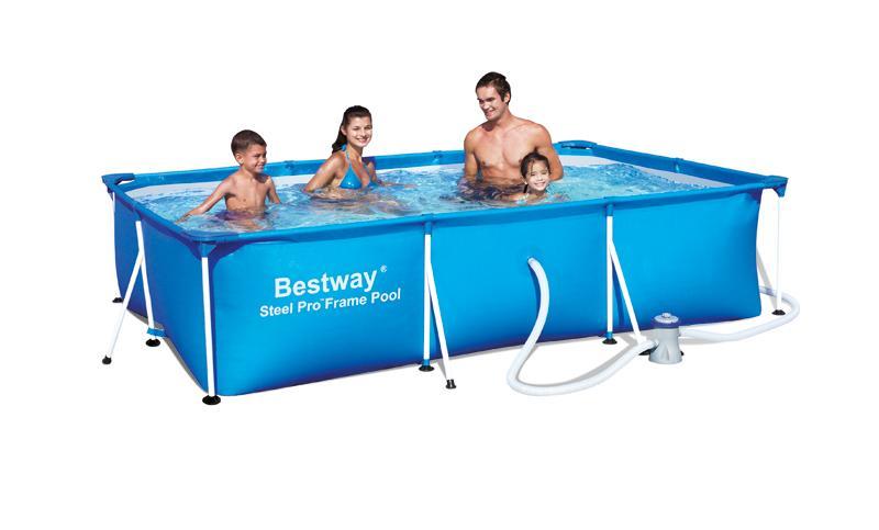piscine tubulaire bestway splash deluxe 3 x x piscines tubulaires rectangulaires. Black Bedroom Furniture Sets. Home Design Ideas