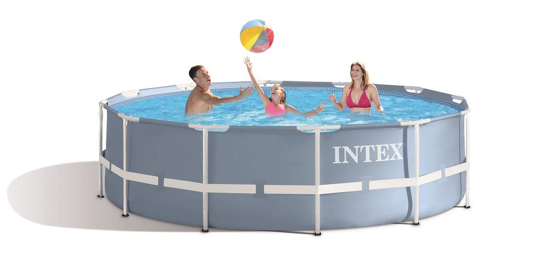 piscine intex prism frame 3 66m x 1 22m piscine. Black Bedroom Furniture Sets. Home Design Ideas