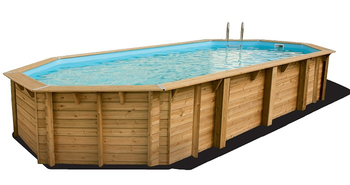 Achetez votre piscine en bois octogonales chez Raviday Piscine