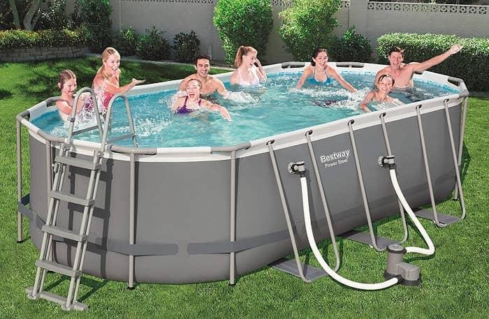 Power STeel Frame piscine bestway ambiance