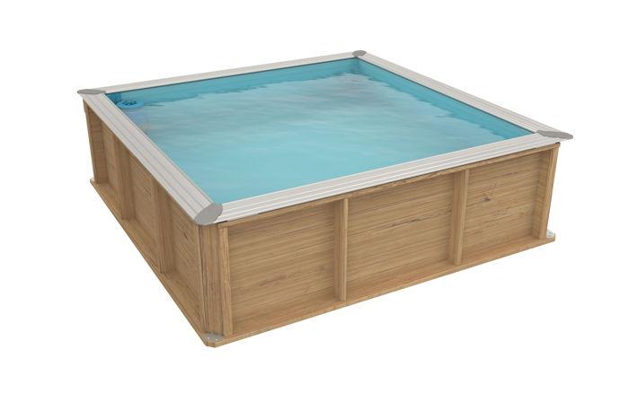 Piscine pistoche piscinette hors sol en bois pour for Catalogue piscine bois