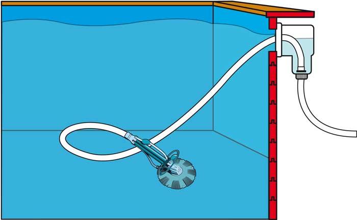 Aspirateur automatique pour piscine Ubbink Poolcleaner Auto