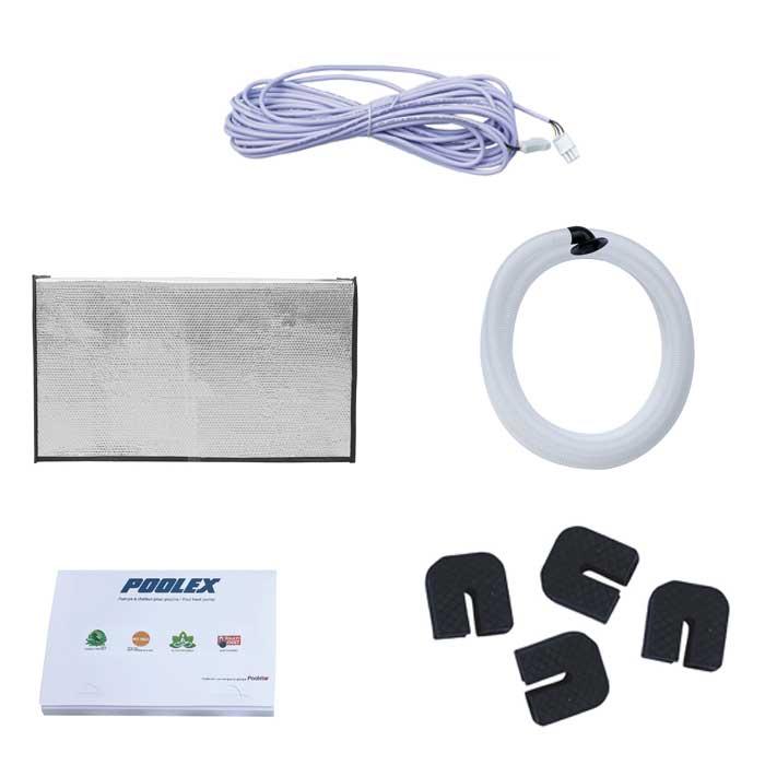 Pompe à chaleur Poolstar Poolex Jetline Selection R410A accessoires