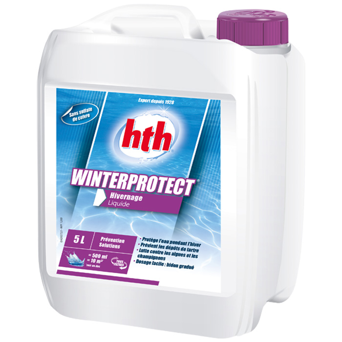 hth winterprotect 5l produit d 39 hivernage piscine raviday. Black Bedroom Furniture Sets. Home Design Ideas