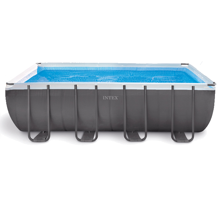 Piscine tubulaire intex ultra silver x x for Epaisseur liner piscine intex