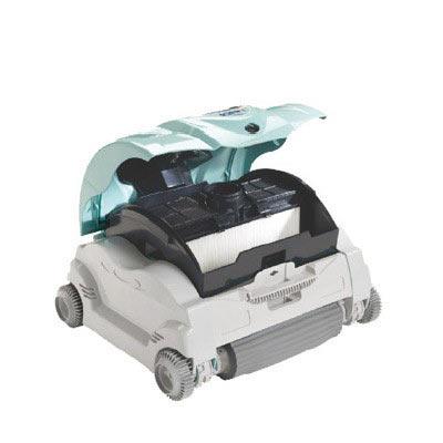 Robot de piscine Hayward eVac Pro avec chariot