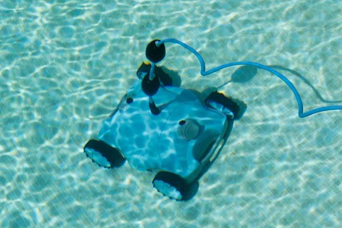 robot nettoyeur fond de piscine Ubbink robotclean 2