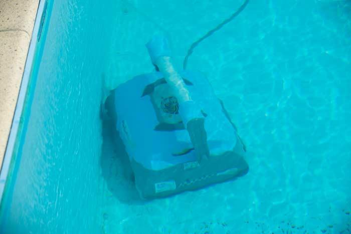 robot nettoyeur fond de piscine Ubbink robotclean 5