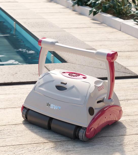 Robot de piscine électrique connecté BWT D300