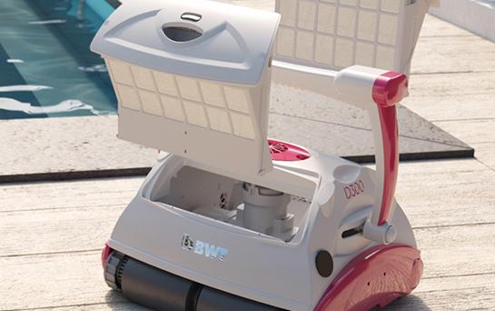 Robot de piscine électrique connecté BWT D200