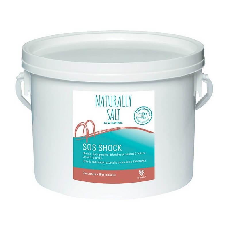 SOS Shock Naturally Salt Bayrol - Désinfectant pour Piscine au sel