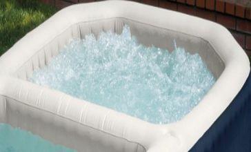 Spa gonflable intex pure spa plus avec piscine int gr e - Piscine a bulle gonflable ...