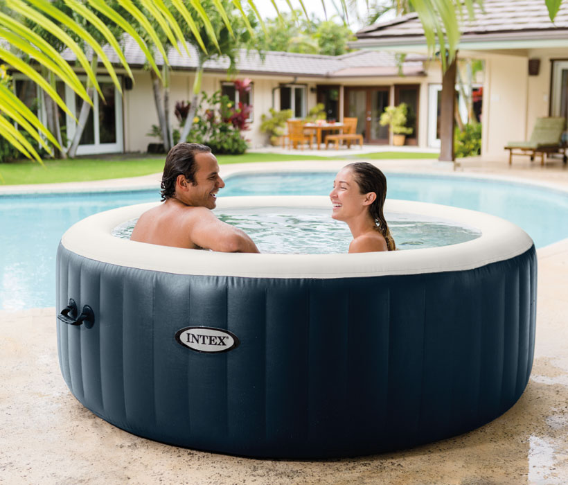 Spa gonflable for Auchan piscine gonflable
