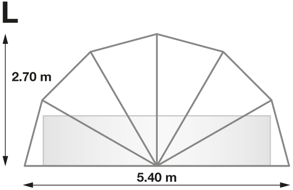 Taille SunnyTent L