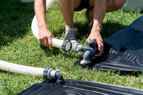 Tapis solaire pour piscines hors-sol Intex