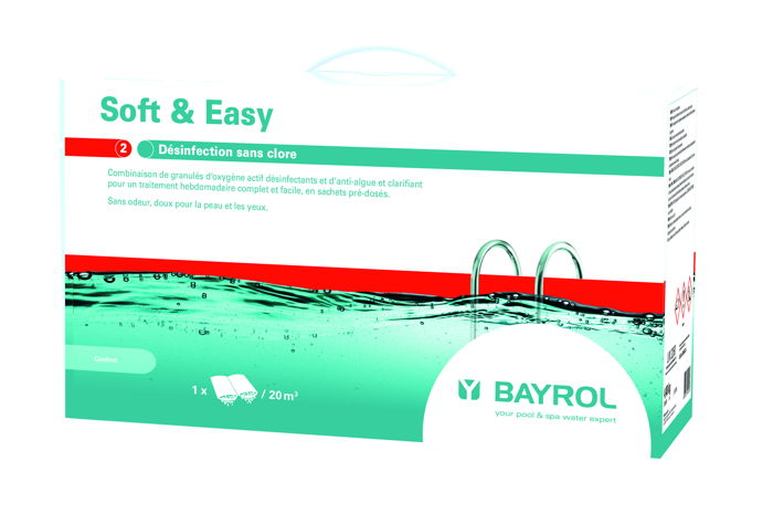 Kit De Traitement Sans Chlore Bayrol Soft Easy Pour