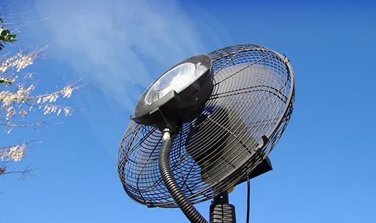 Ventilateur brumisateur haute performance 180cm O'Fresh
