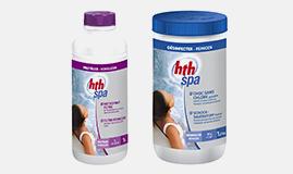 Produits d'entretien HTH pour Spa Gonflable