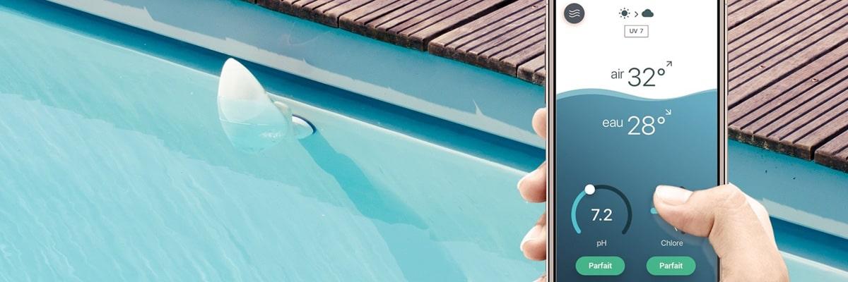 Analyseur connecté flipr piscine