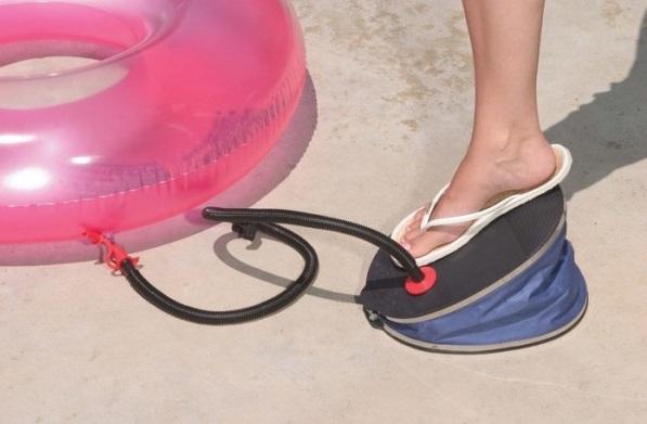 Catégorie gonfleurs de piscine, à pied intex bouée