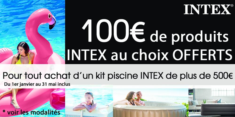 Offre de remboursement Piscine Intex 2017