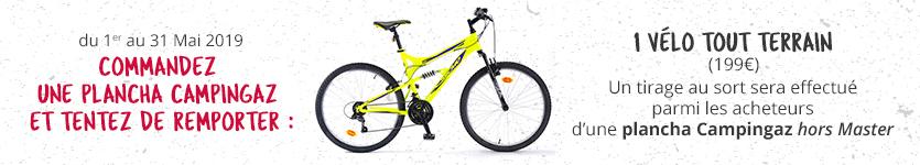 Concours vélo offert sur plancha Campingaz
