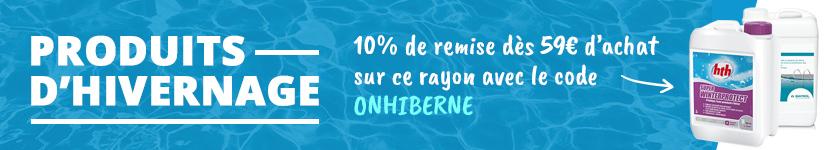 Offre hivernage piscine