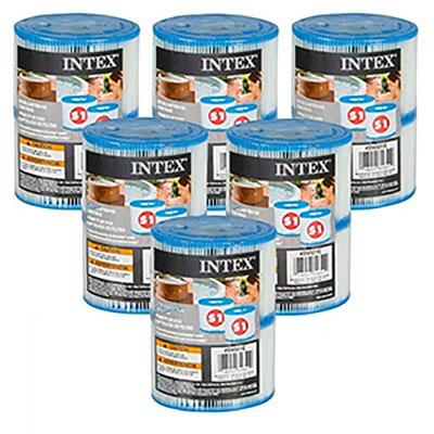 12 cartouches de filtration intex