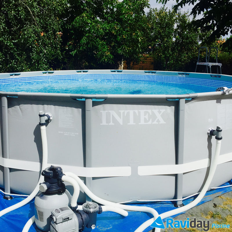 Comparatif des piscines hors sol intex for Piscines autoportees