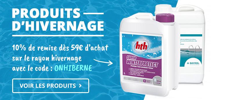 Produits d'hivernage piscine 2019