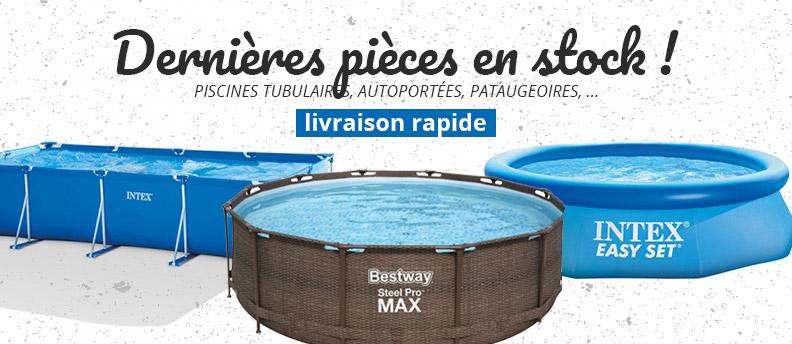 Stock sur piscines